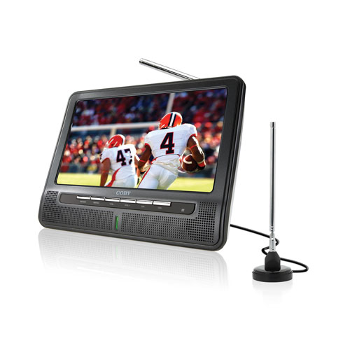 Portable Battery Operated Digital TV with Extended 7 Inch Widescreen