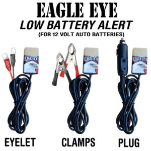 12 Volt Low Battery Alarm Alert