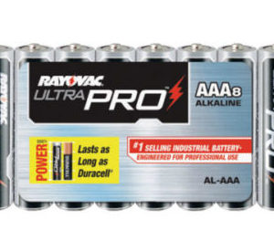 8 Pack AAA Alkaline Batteries From Rayovac©