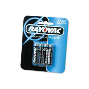 4 Pack AAA Alkaline Batteries From Rayovac©