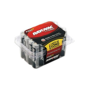 24 Pack AAA Alkaline Batteries From Rayovac©