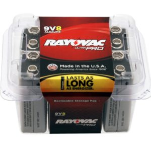 9 Volt Alkaline Battery Pack by Rayovac