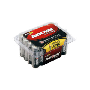 24 Pack AA Alkaline Batteries From Rayovac©