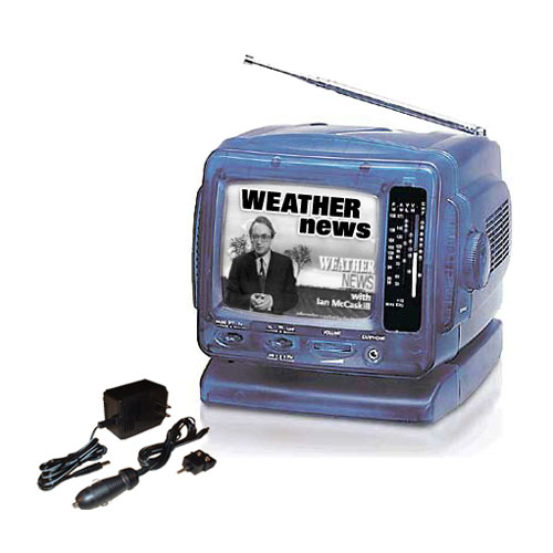 Battery Operated TV with AM FM