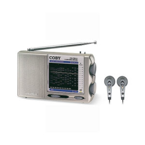 Coby 12 World Band AM/FM/LW/SW Short Wave Radio