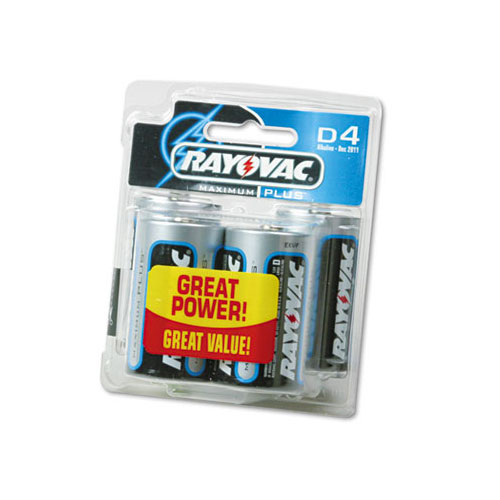 Rayovac D Cell 4 Pack of Batteries