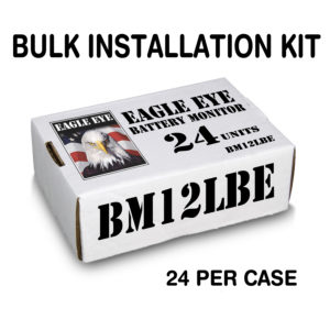12 Volt Alarm Bulk Installation Kit