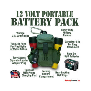 12 Volt Portable Power Pack