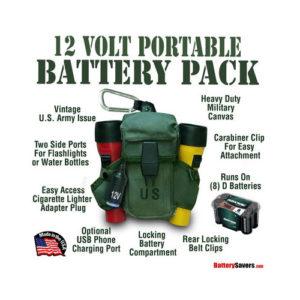 12 Volt Portable Power Pack