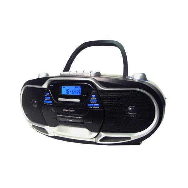 Boombox Radio CD Cassette Recorder