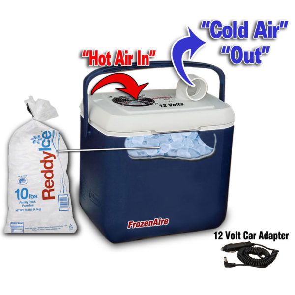 Frozenaire Battery Powered Cold Air Conditioner
