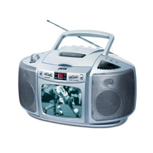 Rechargeable Battery Operated TV Radio Boombox