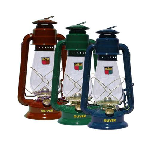 Kerosene Lanterns in Different Colors