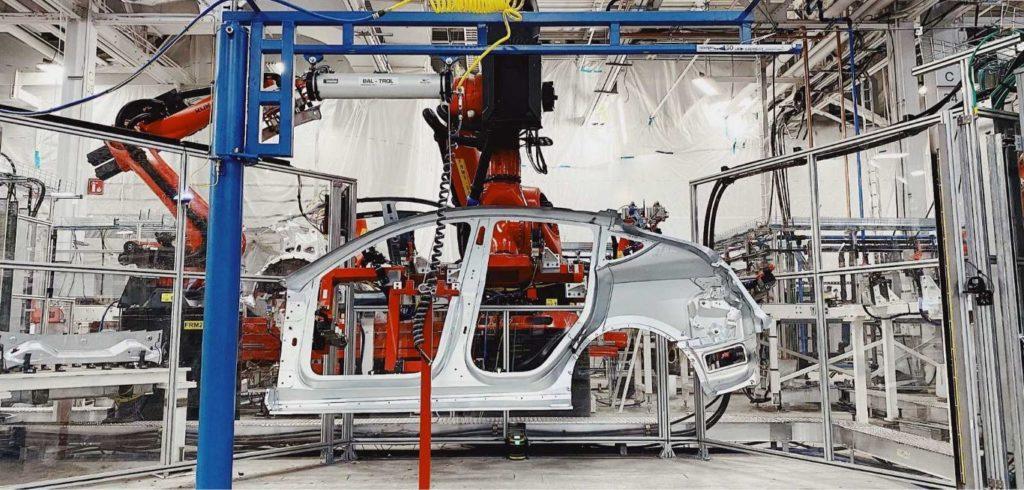 Tesla Updating Fremont Factory